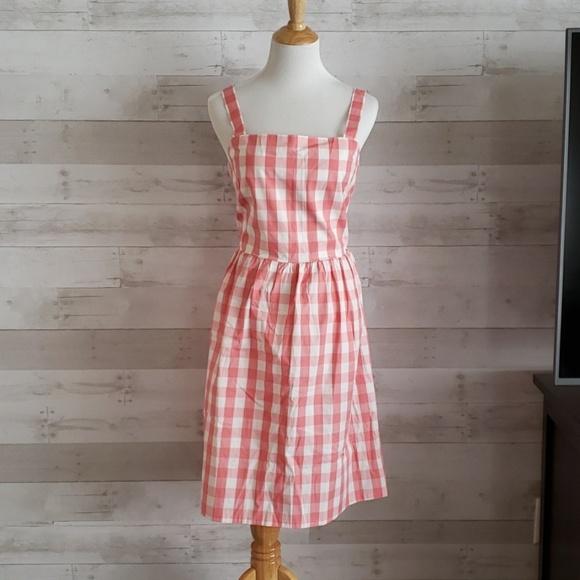 J. Crew Dresses & Skirts - NWT J. Crew pink gingham dress